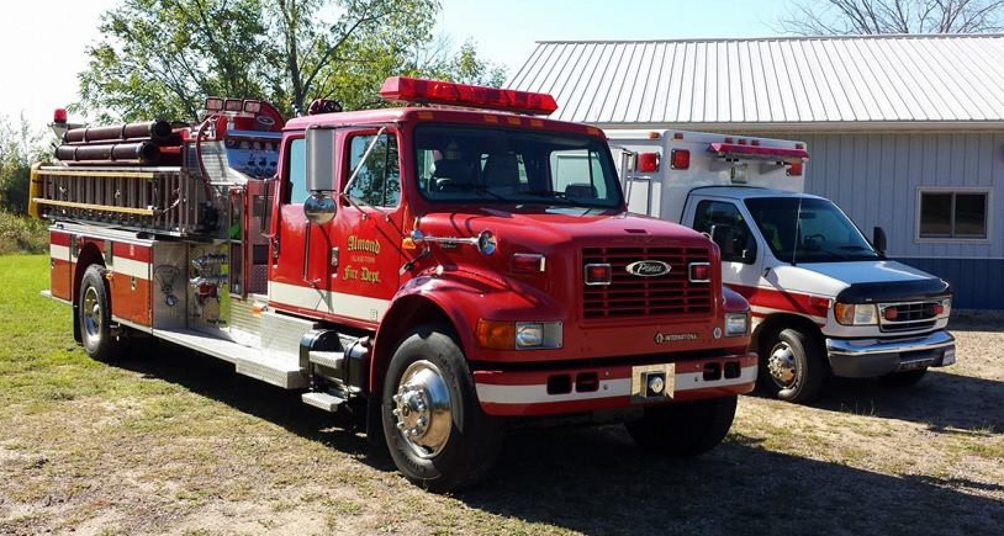 Almond Fire Department and First Responders